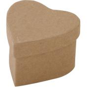 Paper-Mache Heart-7cm x 5.1cm