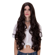 Women's Long Curly Heat Resistance Halloween Cosplay Wig with Cap 31.5