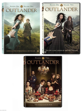 OUTLANDER Complete Season 1 One (Volume 1 & 2) and Season 2 Two (DVD) NEW