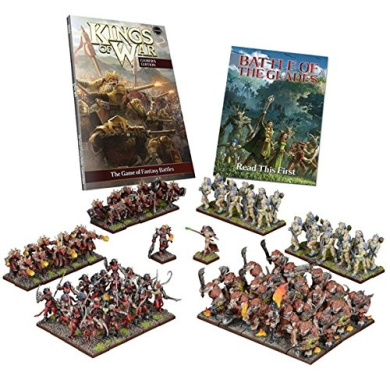 THE BATTLE OF THE GLADES: TWO PLAYER BATTLE SET - KINGS OF WAR