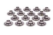 PAC Racing Springs Steel 10 Degree Dual Valve Spring Retainer 16 pc P/N PAC-R641