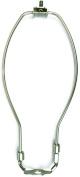 Jandorf 60125 Detachable Lamp Harp, 25cm L X 10cm - 1.1cm W, Brushed Pewter