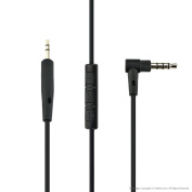 Bose QuietComfort QC25 Headphone Replacement Cable / Audio Cord With Inline Mic and Volume Control, Works With Apple, Android, Windows Phone