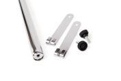 HSS 120cm Hanging Rod, Chrome Colour, 1-PACK