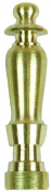 Jandorf 60100 Spindle Finial, 1/4-27, 5.1cm L, Solid Brass