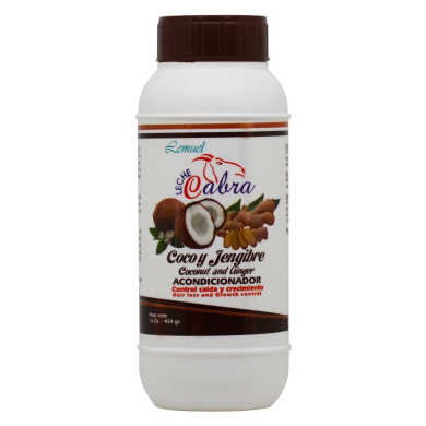 Lemuel Leche Cabra Coconut and Ginger Conditioner For Hair Loss 470ml