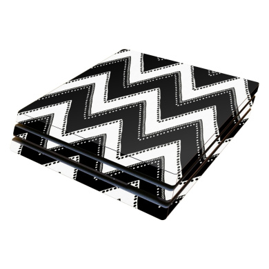 Skin Decal Wrap for Sony PlayStation 4 Pro PS4 Chevron Style
