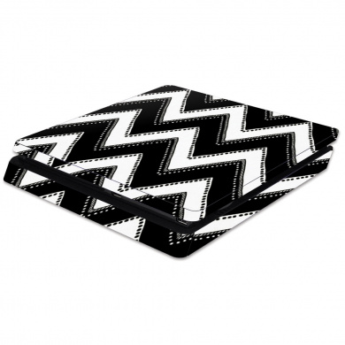 Skin Decal Wrap for Sony PlayStation 4 Slim PS4 Chevron Style