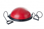 Pure 2 Improve Unisex Balance Ball, Red/Black