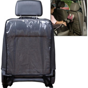 Transparent Car Auto Seat Back Cover Protector Seats Anti-step Dirty Hang Pad Black