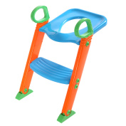 Lazymoon Potty Trainer Seat Kids Toilet Chair Toddler With Ladder Step Up Training Stool