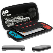 Nintendo Switch Travel Carrying Case Hard Shell Case w/ 8 Card Slots Full Protection For Nintendo Switch Console