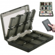 28-in-1 Game Card Carring Case TF SD Gathering Protective Box for Nintendo 3DS XL LL