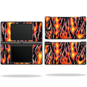 Skin Decal Wrap cover for Nintendo DSI Hot Flames