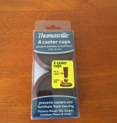 Thomasville Caster Cups, Cherry, 4 Ct