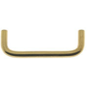 idh by St. Simons Solid Brass 8.9cm Wire Pull