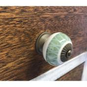 Shabby Restore Leaf 3.8cm Knob Pull