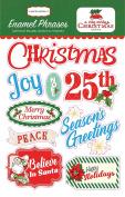 Carta Bella Paper Company a Very Merry Christmas Enamel Words & Phrases