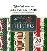 Echo Park Paper Company Twas the Night Before Christmas 6x6 Paper Pad Vol. 2 2