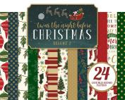 Echo Park Paper Company Twas the Night Before Christmas 6x6 Paper Pad Vol. 1 1