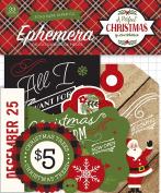 Echo Park Paper Company a Perfect Christmas Ephemera