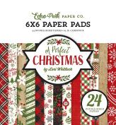 Echo Park Paper Company a Perfect Christmas 6x6 Paper Pad