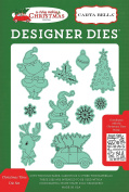 Carta Bella Paper Company Christmas Time Die Set