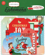 Carta Bella Paper Company a Very Merry Christmas Frames & Tags Ephemera