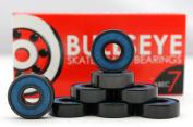 Skateboard Bearings BULLSEYE ABEC 7 Longboard 608 8mm Standard
