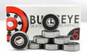 Skateboard Bearings BULLSEYE ABEC 5 Longboard 608 8mm Standard