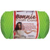 Bonnie Macrame Neon Craft Cord, 4mm x 100yd, Chartreuse