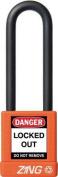 ZING 7059 Lockout Padlock, KA, Orange, 0.6cm . Dia.