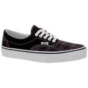 Vans Era (tm Plaid Sp10) Black/chilli Pepper Shoe Ew40yj