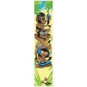 Sacrifice Grippy Griptape With Long-lasting Stick - 3 Monkeys Multicolour Design