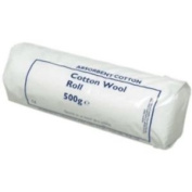 Bp Absorbant Cotton Wool Roll 500g | 100 % Pure Cotton | Cleansing & Cushioning