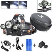 Best Cree Led Headlamp Flash Light - Waterproof Super Bright Head Flashlight
