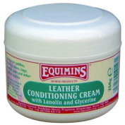 Equimins Leather Conditioning Cream 250g Tub Horse Riding Leather Care Equine