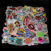 300x Random Vinyl Decal Graffiti Sticker Bomb Laptop Waterproof Stickers Skate