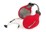 Midland Subzero Music Earwarmer Hi-fi Stereo Headset - Red
