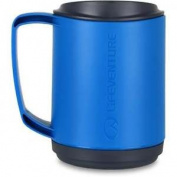 Lifeventure Ellipse Outdoor Camping Walking Hiking Insulated Mug - Blue