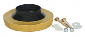 Urethane Wax/Polyethylene Wax Ring Kit, Yellow, For Use With 7.6cm and 10cm Waste Lines - 22UR77
