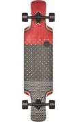 Globe Geminon Kick 100cm Cruiser Longboard Skateboard 10525215 Red Dot Wave