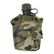 Army Combat Military Water Bottle Dpm Us Gi British Camo Waist Belt Pouch Clip