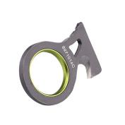 Emergency Rescue Edc Pocket Seat Belt Rope Thread Cutter Hook Key Ring Camp Tool