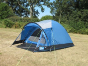 Kampa Brighton 2 Berth Camping Tent Ideal For Weekends Or Festivals Lagoon Blue