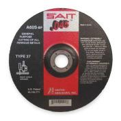 UNITED ABRASIVES-SAIT 22011 Abrsv Cut Whl, 10cm D, 0.1cm T, 1.6cm AH