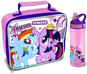 My Little Pony 'Friends Forever' Lunch Bag/Box and Flip 'n' Flow Bottle