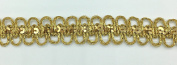 Trimplace 1.9cm Gold Metallic Sequin Galloon - 12 Yards