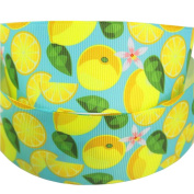 HMR 38MM Cartoon Summer Polyester Printed Grosgrain Ribbons 10 Yards