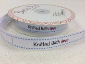 Knitted with Love Grosgrain Ribbon - per 3 metres